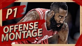 James Harden UNREAL Offense Highlights Montage 2016/2017 (Part 1) - King of Stepback, BEST PG?