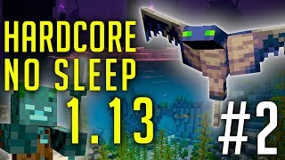 Défi Minecraft 1.13 - Hardcore No Sleep #2 : Attaque de Trident !