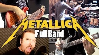 Metallica - Lords of Summer - SPLIT-SCREEN COVERS - VRA! (FULL BAND - HD)