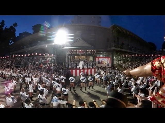 博多祇園山笠VR映像