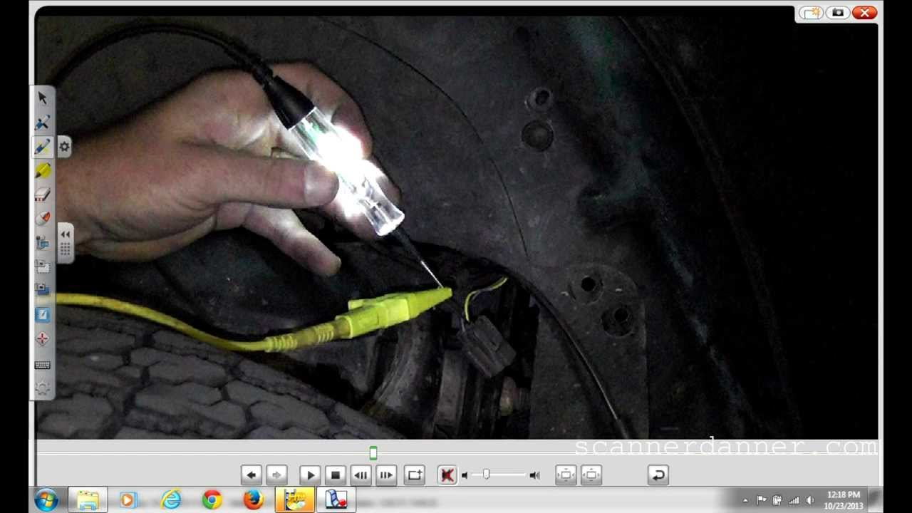 Wiring Diagram For 2002 Gmc Envoy Magneto Resistive Abs Wheel Speed Sensor Test Youtube