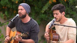 ישראל X Factor - עונה 2 פרק 14: הביצוע של After The Sun - אוהד ועוז