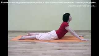 Видео-уроки Открытой йоги. Бхуджангасана.