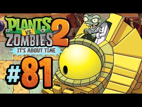 Plants vs. Zombies 2: It's About Time - Dr. Zomboss: Ancient Egypt - Episode 81 - KoopaKungFu Travel Video