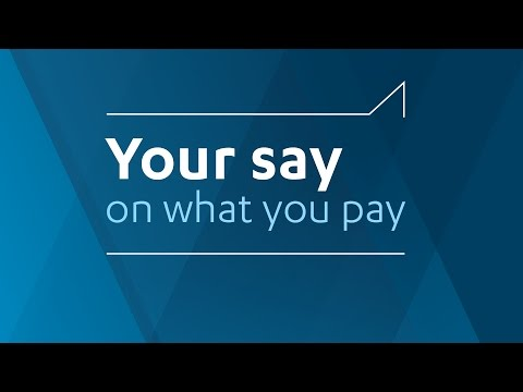 Your say on what you pay