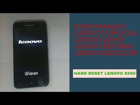 CARA RESET LENOVO S580, MUDAH!!