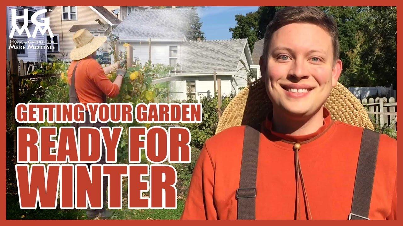 how to winterize a garden 5 tips youtube