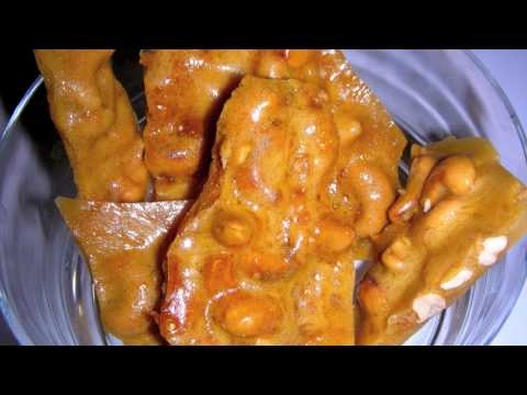 Cashew Brittle Recipe - Delicious Nutty Candy