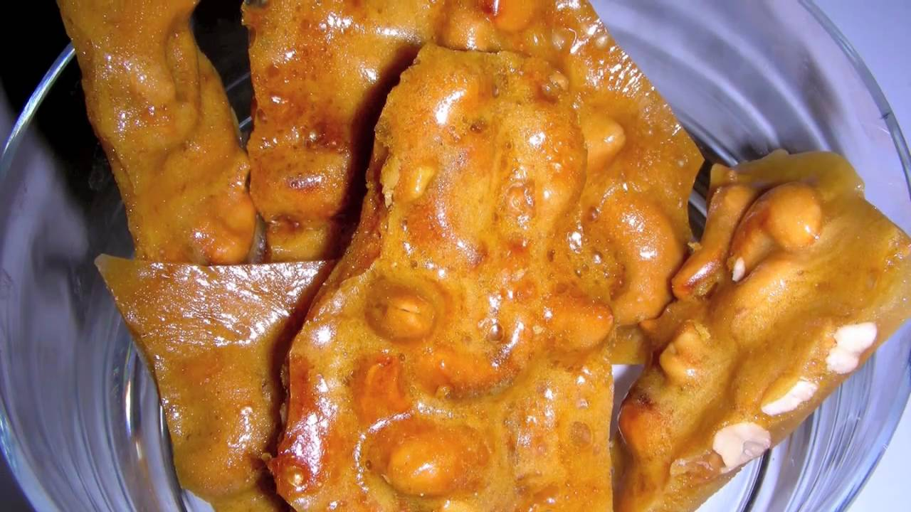 Cashew Brittle Recipe - Delicious Nutty Candy - YouTube