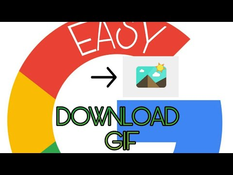 How to download gif image in to the google new version