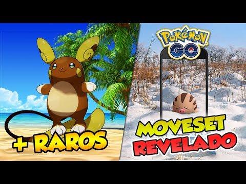 RARIDADES DE TODOS OS SHINIES + MOVESET ESPECIAL SWINUB DAY  - Pokémon Go | PokeNews thumbnail