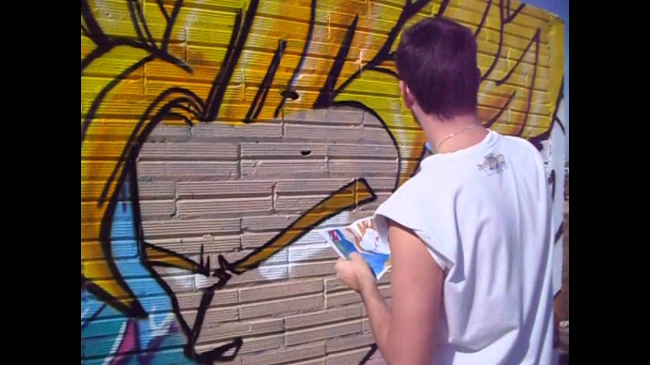 GOKU DRAGON BALL  GraffPainter elDude  YouTube