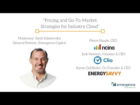 Industry Cloud Playbook: Pricing and Go-To-Market Strategies for Industry Cloud