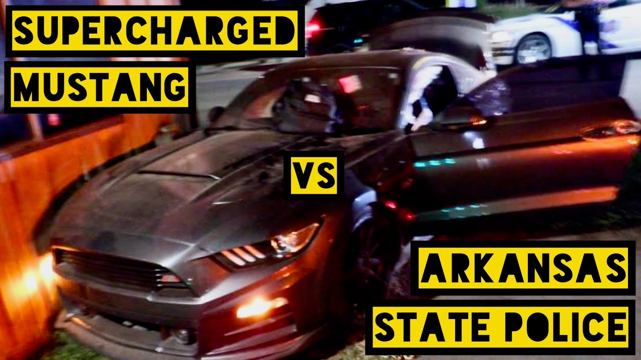 Supercharged Mustang Hits 178 MPH in Arkansas High Speed Pursuit