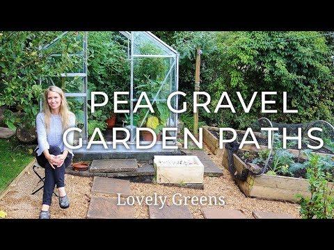 Pea Gravel Garden Paths