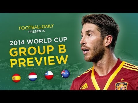 2014 World Cup Group B Preview & Predictions