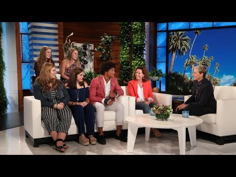 Ellen Meets Indiana Guidance Counselor Shelly Fitzgerald