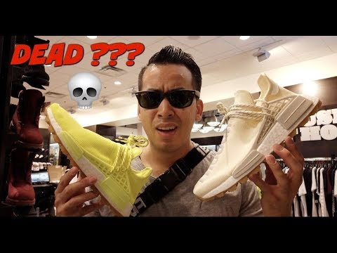 ARE PHARRELL x Human RACE NMD DEAD ?? VLOG