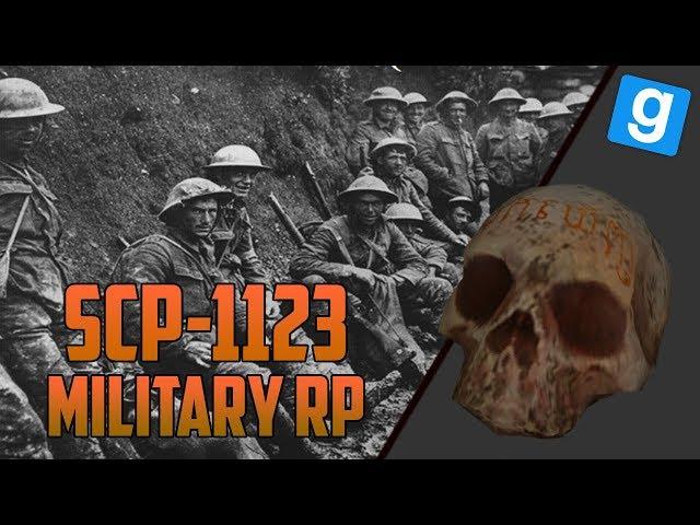 SCP RP   LA GRANDE GUERRE! SCP-1123 Garrys Mod