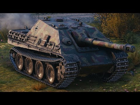 World of Tanks Jagdpanther - 6 Kills 5,3K Damage (1 VS 5) thumbnail
