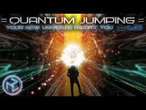 ✧QUANTUM JUMPING TO PROJECT POWERFUL SELF IMAGE ✧3D AUDIO ASMR  Isochronic Tones Meditation Theta
