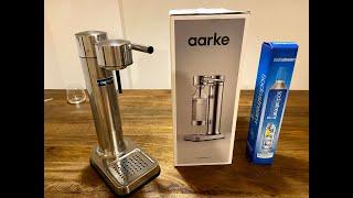 아름다운 탄산수 제조기 AARKE CARBONATOR …