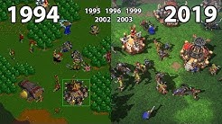 Evolution of WarCraft (RTS) Games 1994 - 2019