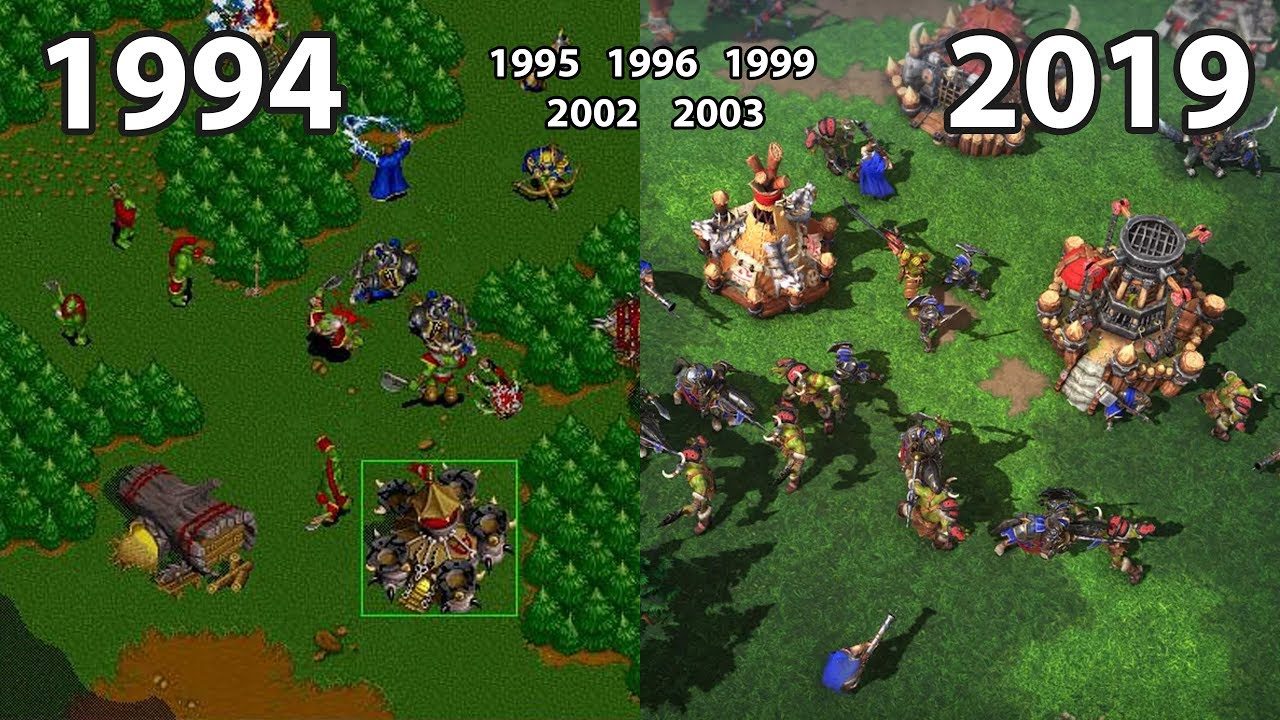 Download Evolution of WarCraft (RTS) Games 1994 - 2019