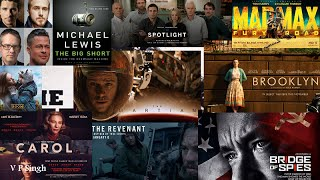 Top 10 Movies That Could Win Best Picture in 2016