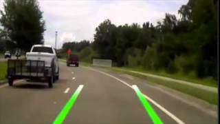 Aftermarket Lane Departure/Collision Warning/DVR Operation Video