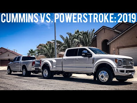 Cummins Owner SHOCKINGLY Buys a 2019 Ford F450 Platinum (Cummins vs Powerstroke) Jay Flat Out