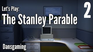Let's Play The Stanley Parable - Part 2 - Dansgaming - Gameplay / Walkthrough - PC HD
