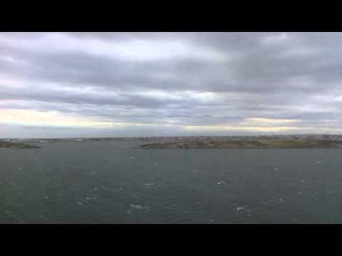 Stanley, Falkland Islands arrival