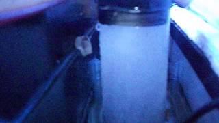 Skimer para nano 30 lt   bomba 300 l/h - compressor e pedra porosa