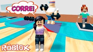 Roblox - ESCAPE DA ACADEMIA (Escape The Gym Obby) | Luluca Games