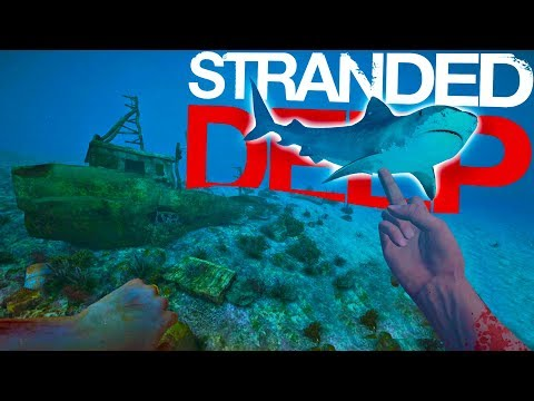Stranded Deep - Deep Underwater Exploration & Shark Hunting! - Stranded Deep  Gameplay Highlights