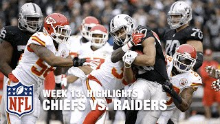 Chiefs vs. Raiders | Week 13 Highlights | NFL