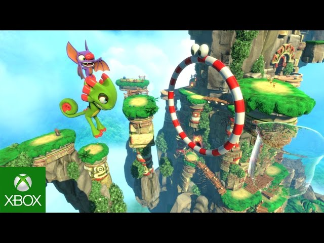 Yooka-Laylee Multiplayer Reveal Trailer