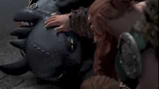 HTTYD: Second Time Toothless Saves Hiccup (Most of Him)
