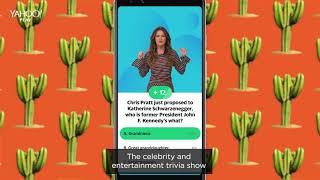 Play trivia with Sandra Vergara, only on Yahoo Play
