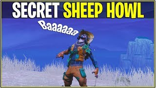 "*NEW* SECRET ""SHEEP"" HOWL EMOTE! *Howl Easter Egg* 