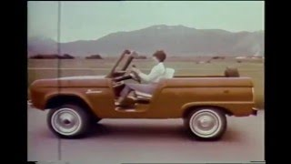 8 Ford Truck and Van TV Car Ad Commercials (1959-1972)
