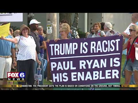 At Town Hall, Ryan Criticizes Trump For Comments About White Supremacist Rally