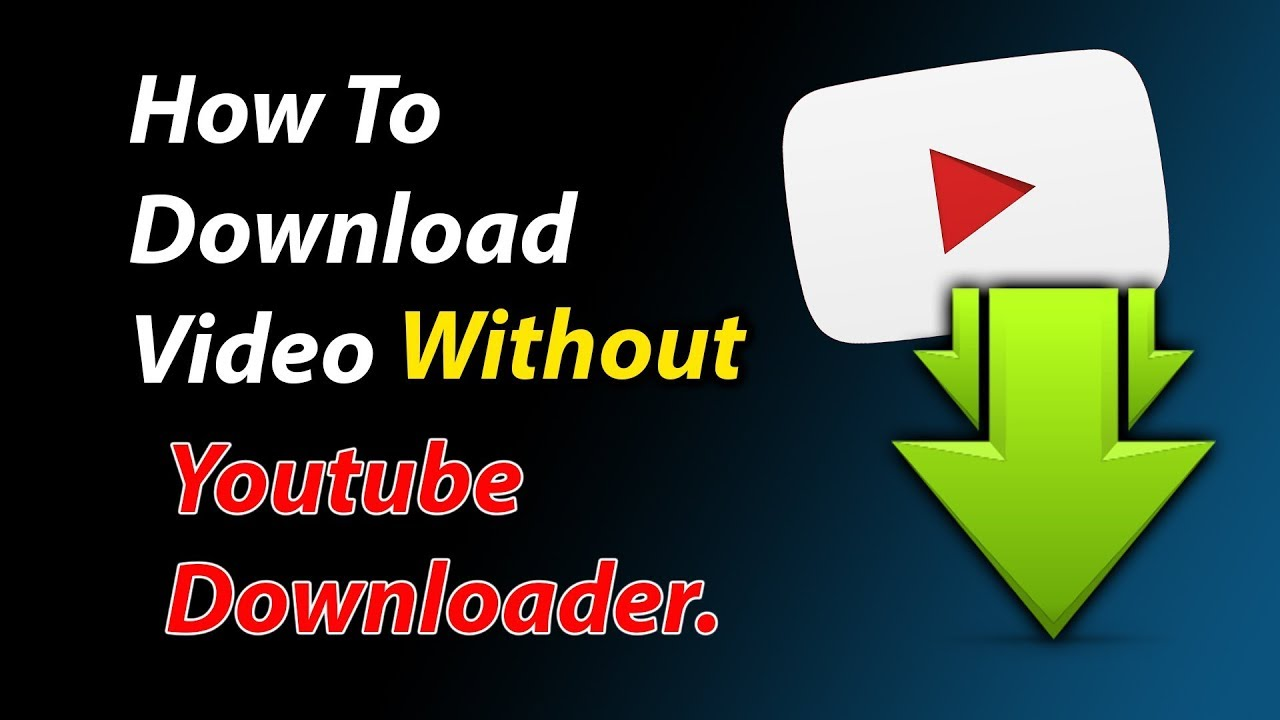 How to download youtube videos music without any downloader on pc how to download youtube videos music without any downloader on pc ccuart Gallery