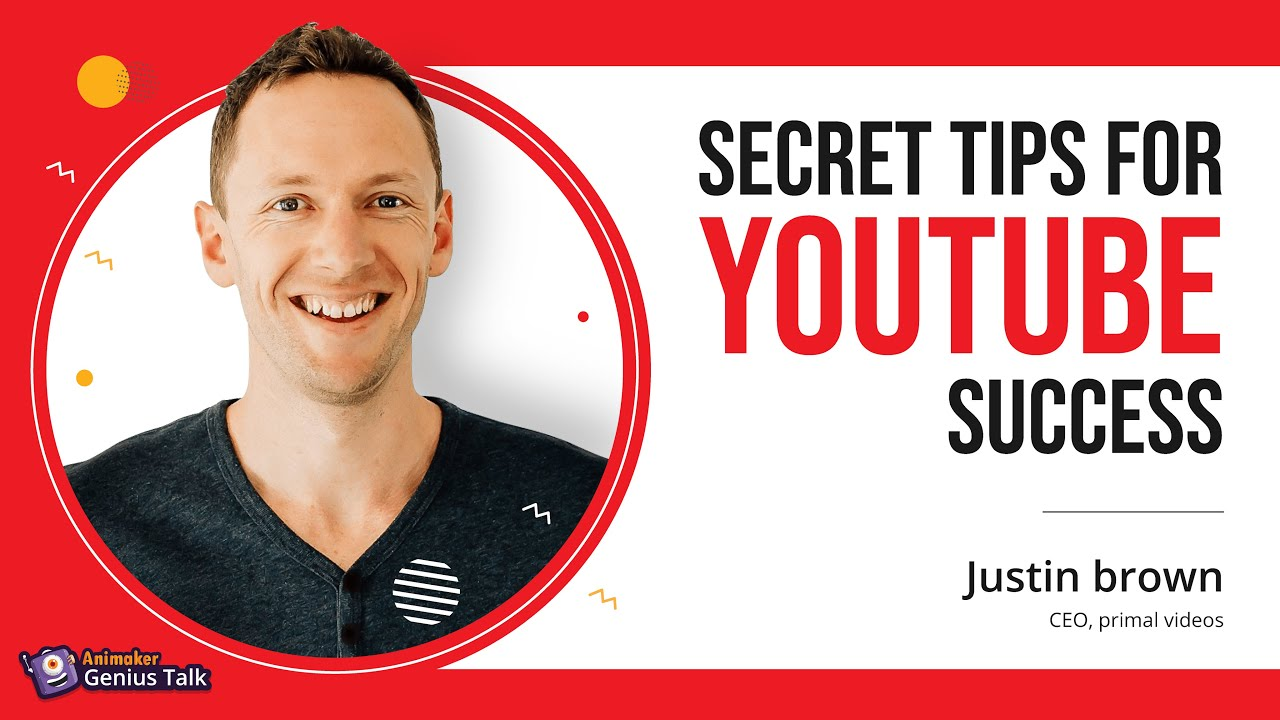 Justin Brown's secret tips for YouTube success - YouTube