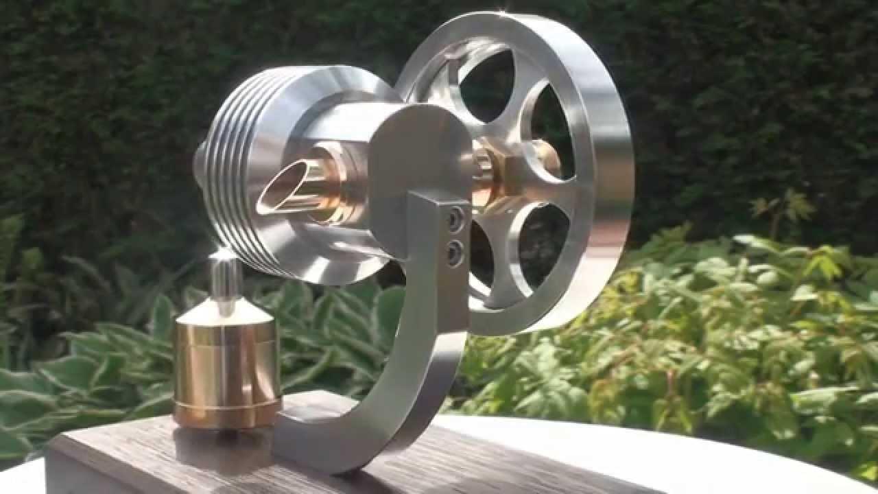 MANSON hot air engine - YouTube