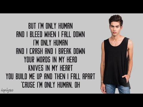Human - Christina Perri (Austin & Kurt Schneider Cover)(Lyrics)