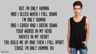 Human - Christina Perri (Austin & Kurt Schneider Cover)(Lyrics)