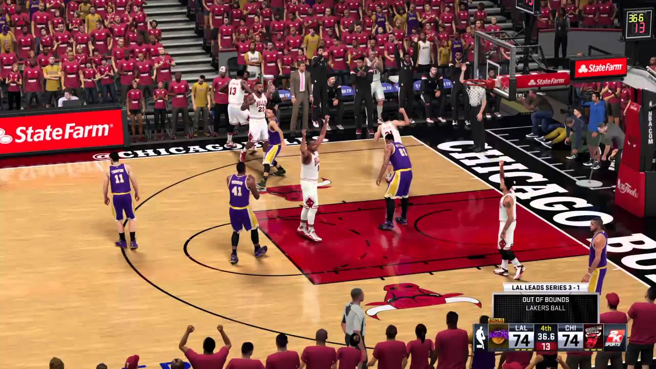 NBA 2k16 NBA Finals with buddy Game 4,5, and 6 & 7 if necessary - YouTube