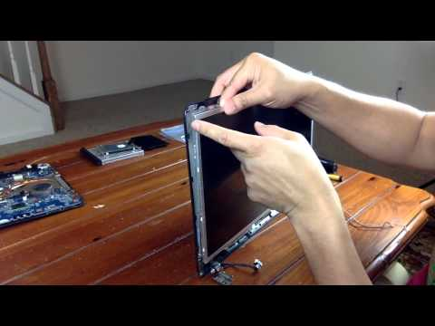 Laptop Screen Replacement / How To Replace Laptop Screen Sony Vaio SVE171E13L/SVE17137CXB
